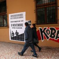 Bologna, poster e murales contro l'arrivo di Salvini