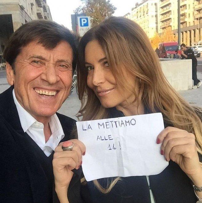 Selfie della pace fra Gianni Morandi e Selvaggia Lucarelli, ma è scontro con Belen. E anche Magalli dice la sua