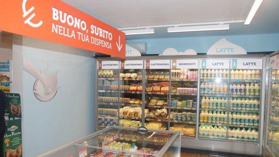Bologna, la Granarolo apre il suo primo market con offerte last minute