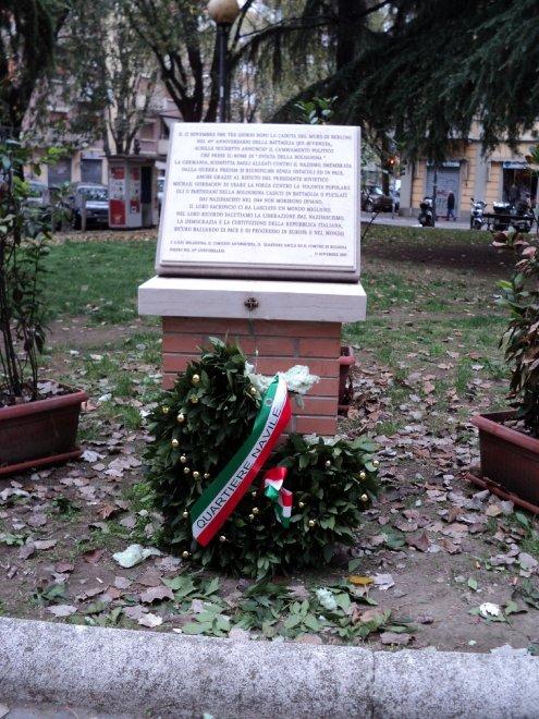 Bologna, ferita la memoria della battaglia della Bolognina