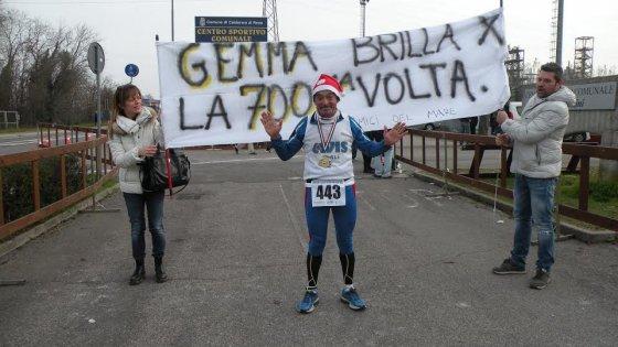"""Le 700 maratone di Lorenzo Gemma: """"A 61anni non voglio fermarmi"""""""