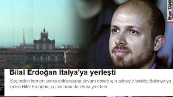 Il figlio di Erdogan indagato per riciclaggio a Bologna