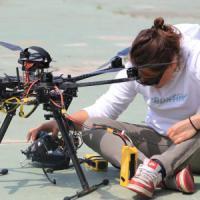 Valentina, professione pilota di droni: