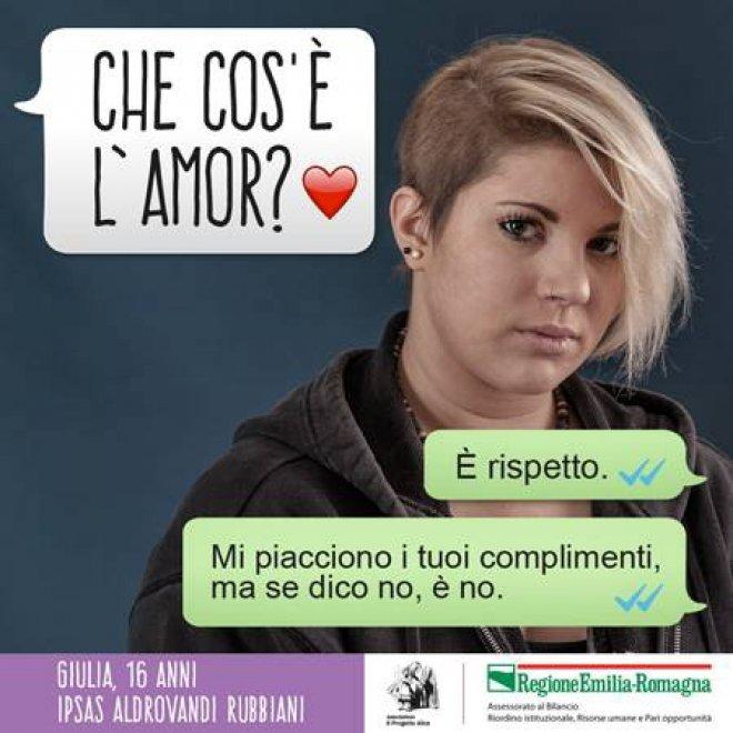 """Preferenza Bologna, i ragazzi e il rispetto delle donne: """"Se la amo non la  WC06"""