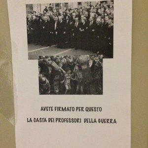 Ateneo Bologna, ancora un blitz dei collettivi contro Panebianco