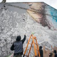 Bologna, Blu cancella tutti i suoi murales: