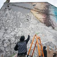 Street writer Blu destroys his works in Bologna in fight against