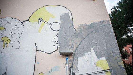 """Caso Blu, gli artisti ribelli: """"Boicottiamo la mostra sui graffiti a Bologna"""""""