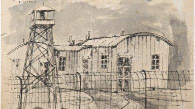 Carpi, morto il pittore  che disegnò l'orrore  dei lager in prigionia