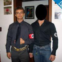 """Bologna, capogruppo di Forza Italia vestito da nazista: """"Era il mio addio al celibato"""""""