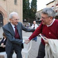 Referendum, a Bologna partigiani in piazza con la Fiom: