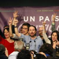 Il leader di Podemos vota Martelloni: