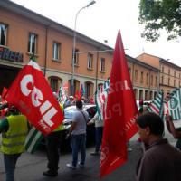 A Bologna traffico in tilt per lo sciopero degli spazzini