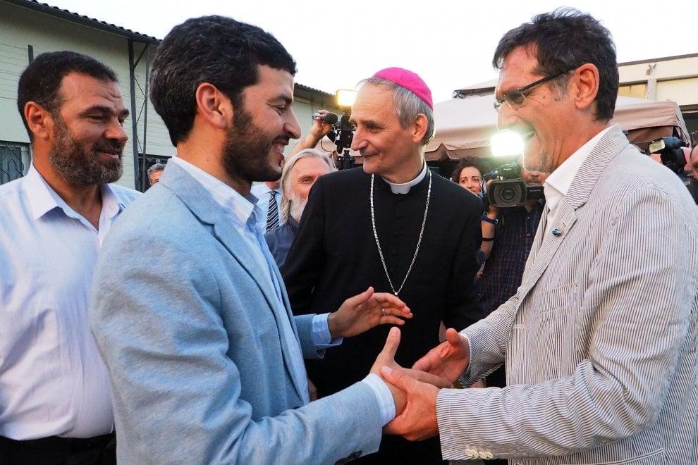 L'arcivescovo di Bologna festeggia il Ramadan con gli Imam e il sindaco PD