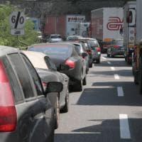 Esodo, traffico intenso sulle autostrade dell'Emilia-Romagna