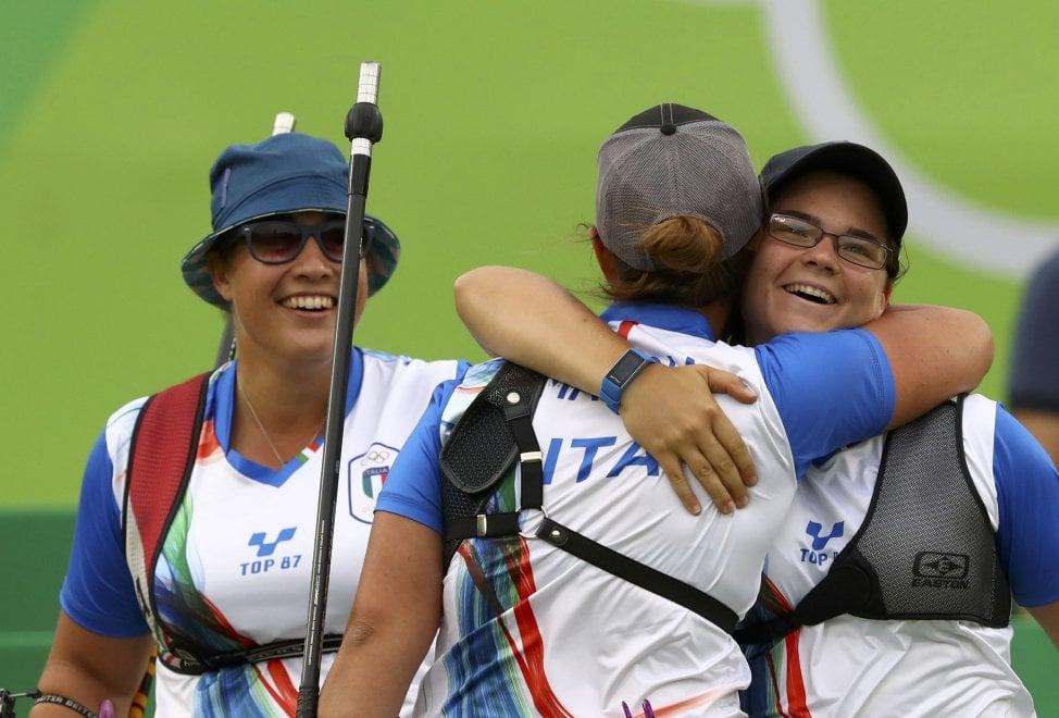 Il trio del tiro con l'arco, le azzurre che hanno sfiorato l'impresa a Rio 2016