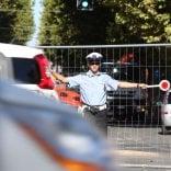 Ha aperto il cantiere   Foto   fra via Irnerio e i viali incrocio  chiuso totalmente  traffico e bus deviati