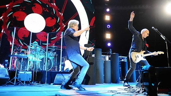 The Who a Bologna: in due ore, 50 anni di storia rock