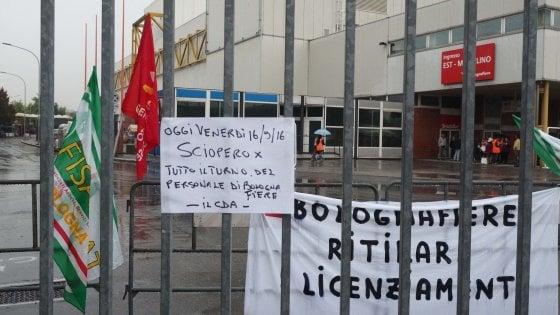 Fiera Bologna, revocati i 123 licenziamenti