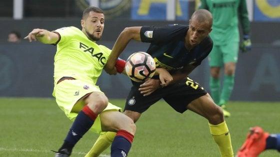 Coraggioso Bologna, Destro-gol: bel pari in casa Inter