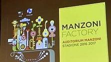 La stagione del Manzoni parte in Maserati