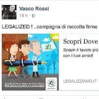 Vasco Rossi lancia la campagna pro cannabis