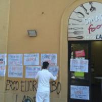 Mense universitarie, si allarga la protesta anche a via Zanolini a Bologna