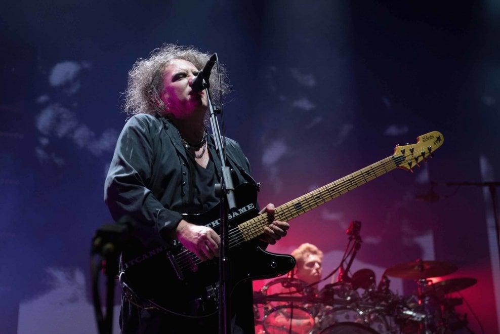 Il concerto dei Cure a Bologna