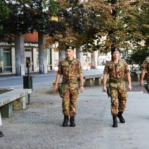 Bologna,  primo bilancio delle ronde dei soldati al Navile