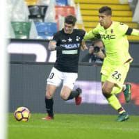 A Udine un brutto Bologna viene punito al 93'