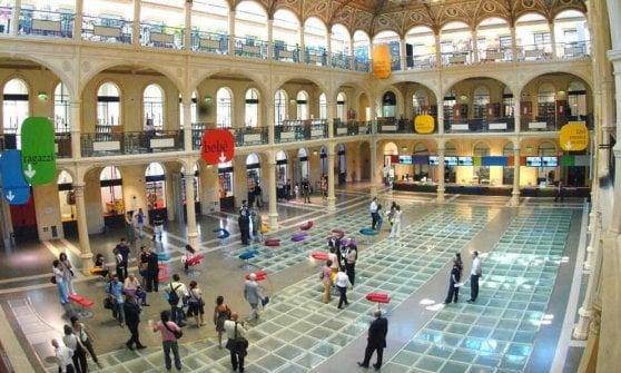 92d42b5e9e Bologna, Sala Borsa festeggia i primi 15 anni e cambia volto così ...