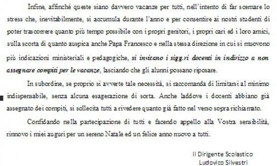 """Piacenza, il preside ai suoi professori: """"Non date compiti per le vacanze"""""""