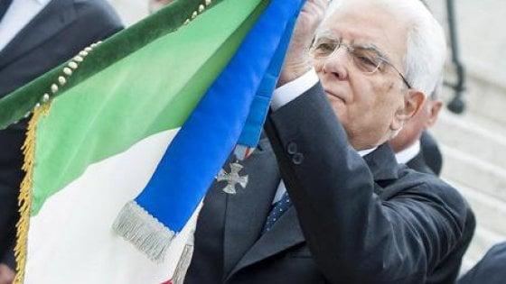 Mattarella a Reggio Emilia per la cerimonia del Tricolore