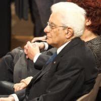 Il presidente Mattarella In università a Bologna