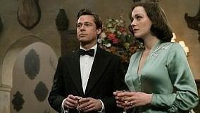 """I film in programmazione a Bologna  """"Allied"""": il film di Robert Zemeckis con Brad Pitt e Marion Cotillard"""