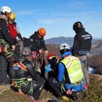 Bologna, bimba cade in una scarpata: salvata dai soccorsi