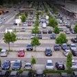 Preso ladro al parcheggio del centro Meraville