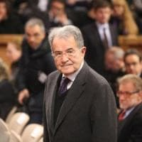 """Prodi: """"Il centrosinistra unito non è un'esperienza irripetibile"""""""