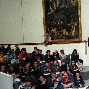 Bologna, l'arte a misura di bambini