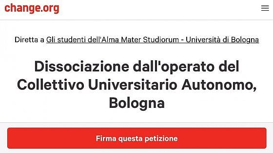 Bologna, studenti contro il Cua: migliaia di firme