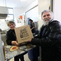 Bologna, Libera dona mille di chili di spaghetti alla mensa dei poveri