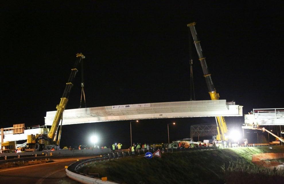 People Mover, ecco il ponte sulla tangenziale