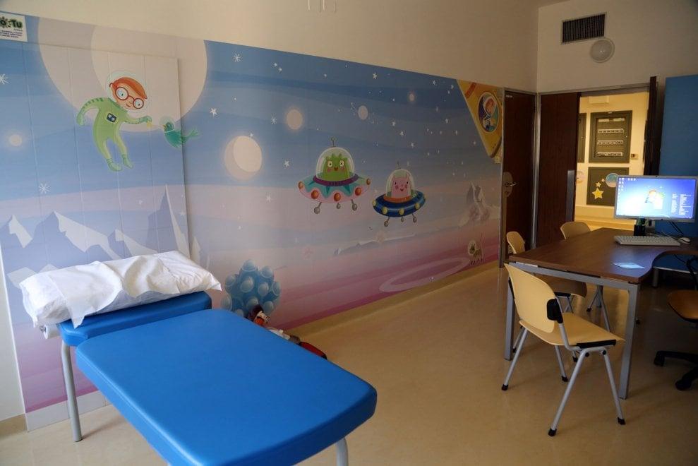 Bologna, inaugurato il nuovo day hospital pediatrico del Bellaria