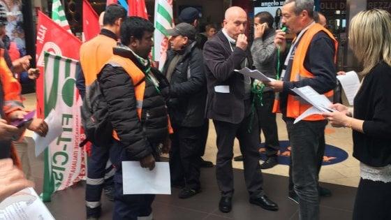 In sciopero i dipendenti del settore gas e acqua
