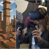 Occhiali 3D e joystick: così si passeggia tra i vicoli della Bologna medievale