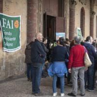 Bologna, in fila tra i ricordi nei luoghi aperti dal Fai