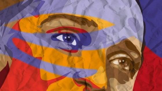Resistenza, il volto di Irma Bandiera sul muro di una scuola di Bologna