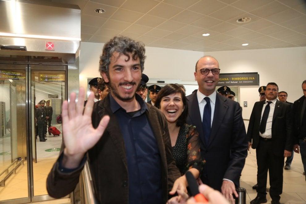 Gabriele Del Grande è libero, è atterrato a Bologna