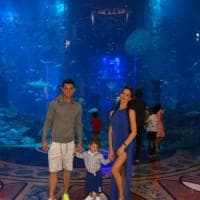 Dzemaili e famiglia, vacanze (brevi) a Dubai