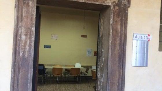 Ateneo bologna il cua forza la porta dell 39 aula di for Addobbare la porta dell aula